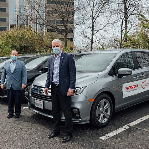アメリカでも新型コロナ感染者の搬送車両の提供を開始|Honda