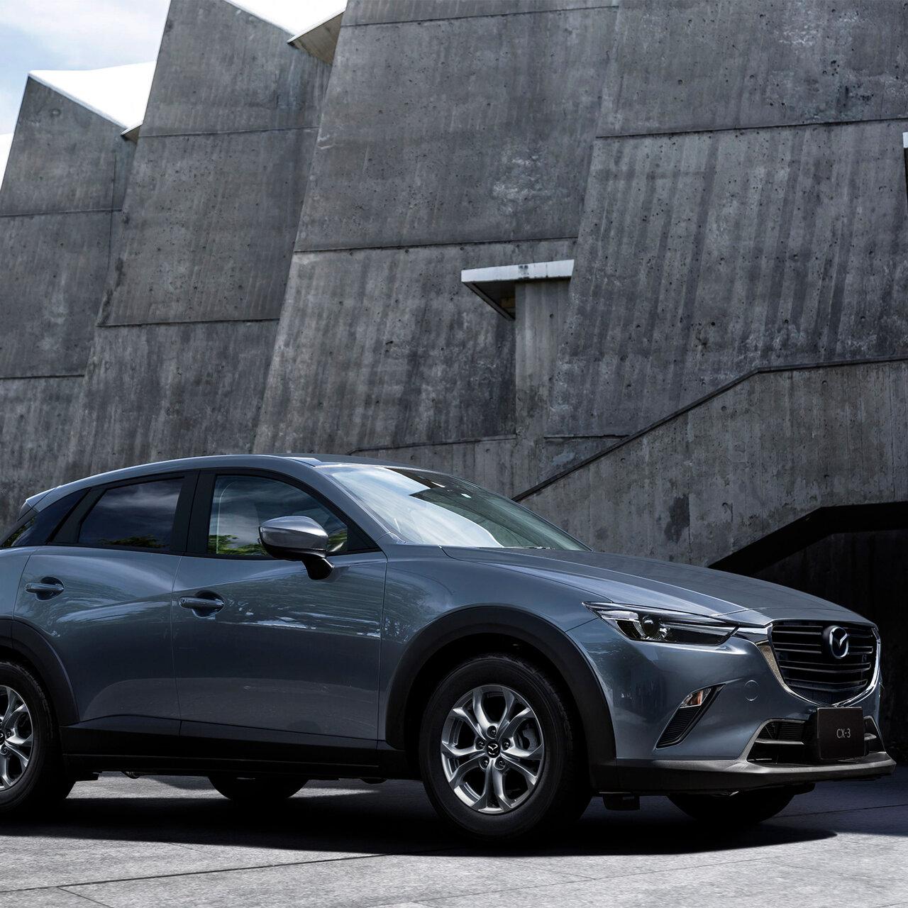 CX-3に1.5リッターエンジンや新色ボディカラーなどを追加 Mazda