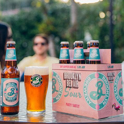 爽快な酸味が楽しめるサワービール「ブルックリンベルエアサワー」 KIRIN
