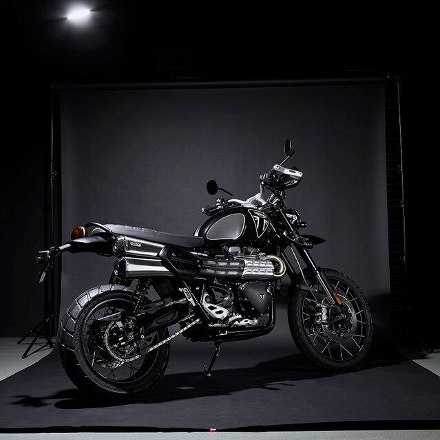 トライアンフが日本限定20台の「Scrambler 1200 ボンドエディション」発売|Triumph