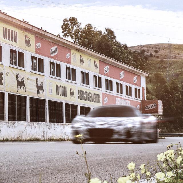 マセラティ、MC20プロトタイプのテスト走行をタルガ・フローリオレースコースで実施| Maserati