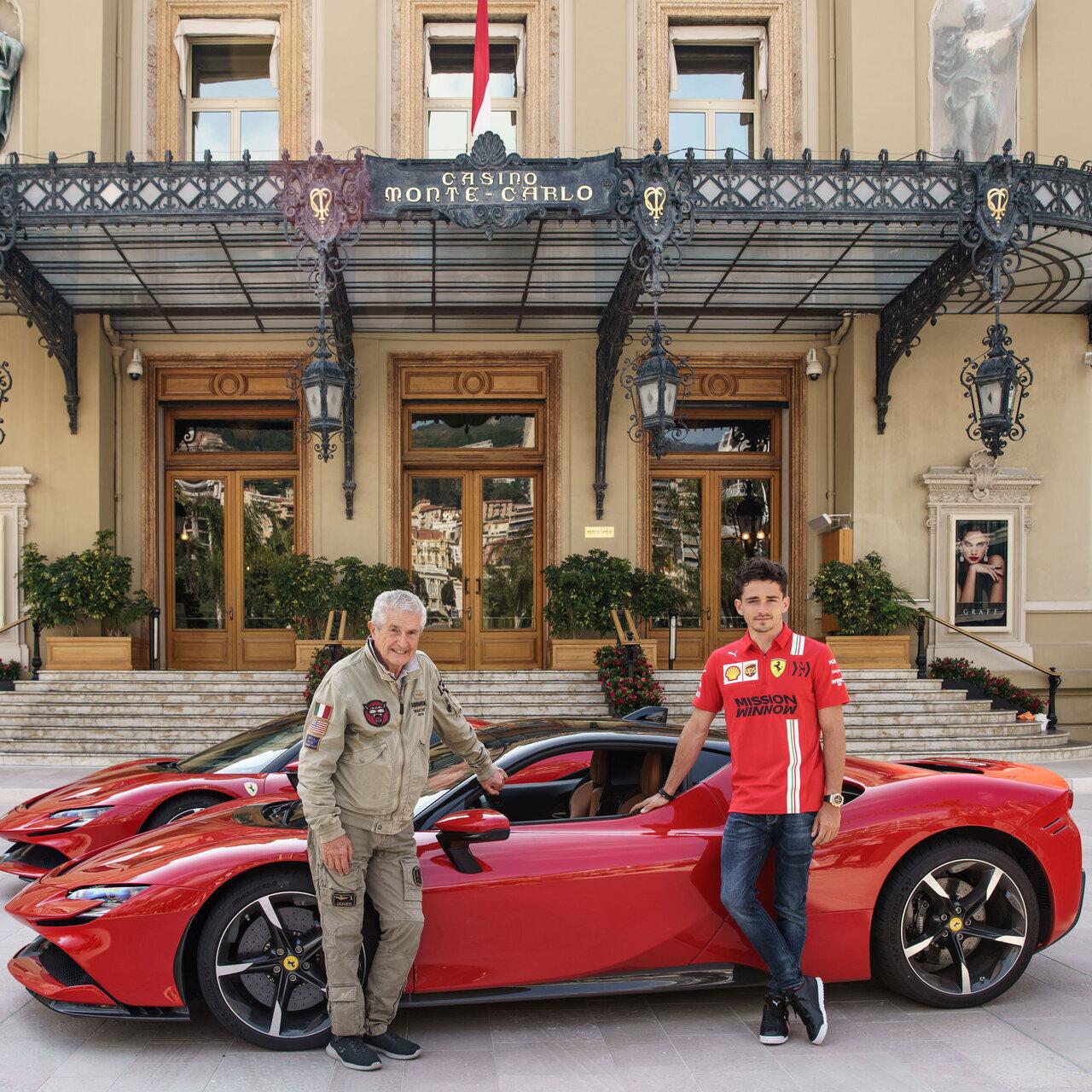 フェラーリ SF90ストラダーレとF1ドライバー、シャルル・ルクレールが主人公の短編映画 Ferrari