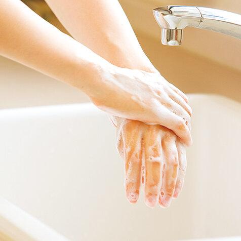 手を洗う。いのちをつなぐ|SARAYA