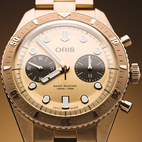 無垢ブロンズの美しさを湛えた「オリスヘルシュタインエディション2020」|ORIS