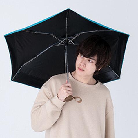 コロナ禍の熱中症対策に。シンプルで使いやすい男性向け日傘シリーズ|Wpc.™