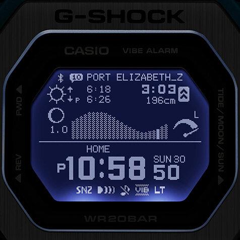 "Gショックのスポーツライン""G-LIDE""より新作「GBX-100」が登場|G-SHOCK"