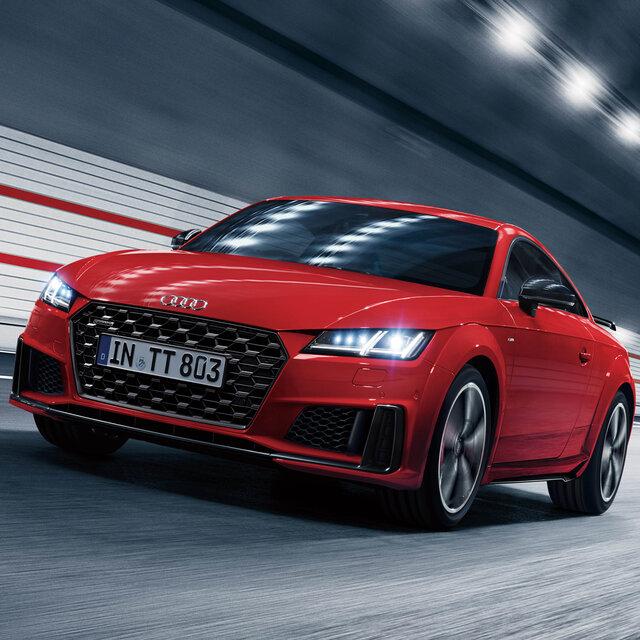 クワトロ40周年を記念したTTクーペの限定モデルが登場|Audi