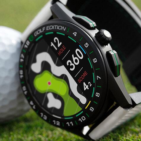 ゴルフをより楽しむためのコネクテッドウオッチ|TAG HEUER