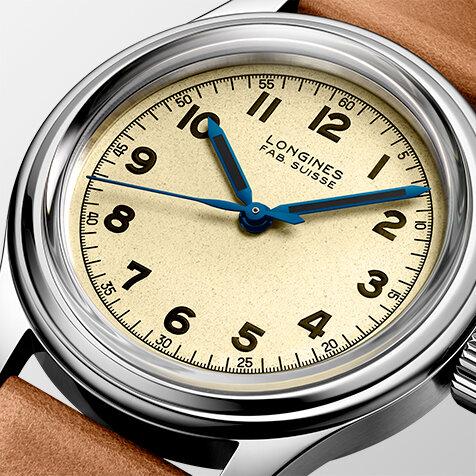 時計史に名を残す第2次世界大戦当時の軍用時計を復刻「ロンジン ヘリテージミリタリー」|LONGINES