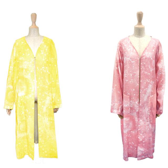 真夏に着用できるオーガンジーコートに新色が登場|JANTJE_ONTEMBAAR