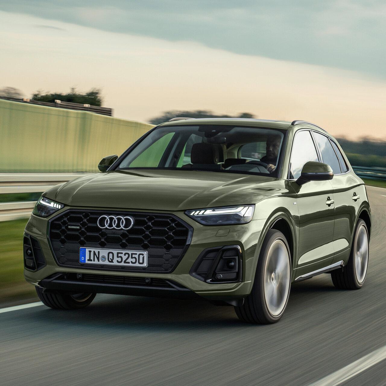 S lineをさらにスポーティで個性的に──Audi Q5 S line competition|Audi