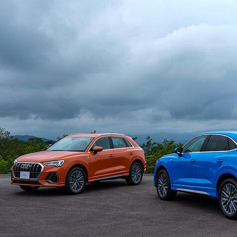 アウディ のコンパクトSUV「Q3」「Q3スポーツバック」が日本デビュー|Audi