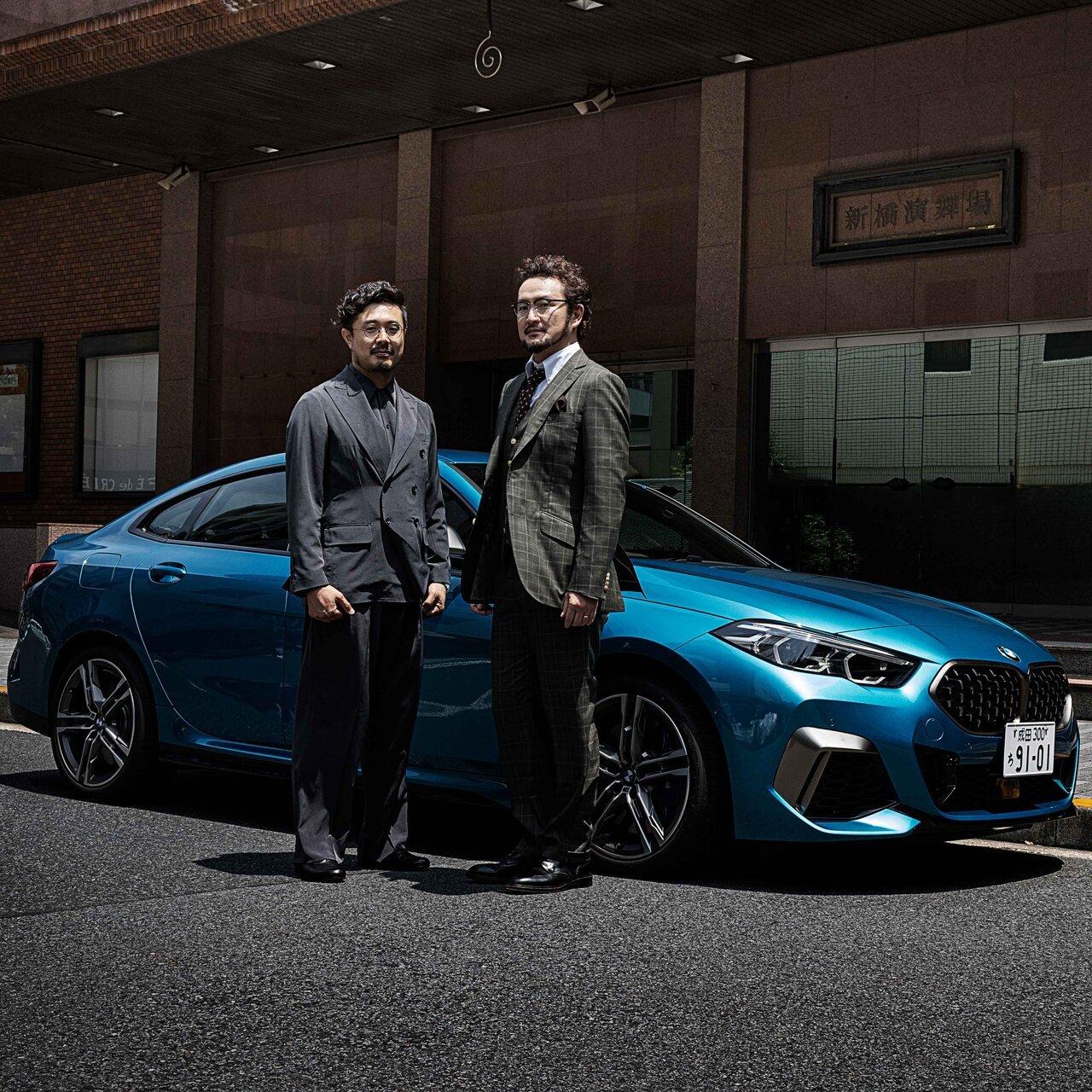 歌舞伎俳優 中村獅童×開化堂 八木隆裕が語る、BMW M235i xDrive グラン クーペ の真価|BMW