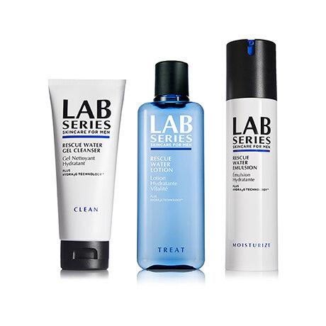 乾燥から男の肌を守るラボ シリーズの「ウオーター RE」シリーズ|LAB SERIES