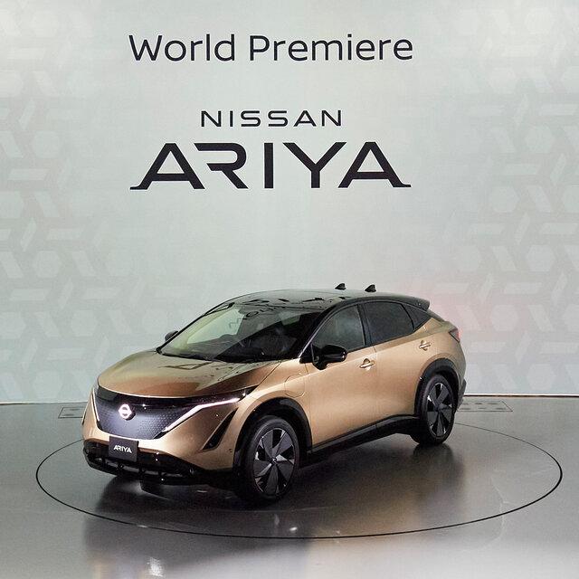 日産、新型クロスオーバーEV「日産アリア」を世界初公開|Nissan