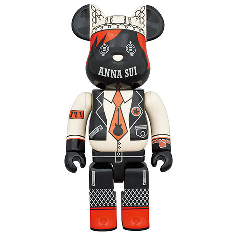 BE@RBRICK ANNA SUI RED & BEIGE 400% / 1000%|MEDICOM TOY