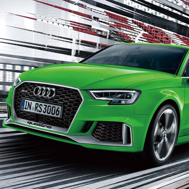 アウディ、RS3スポーツバック/RS3セダンを2年ぶりに国内発売|Audi