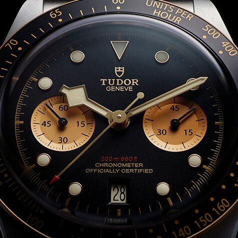 祝50周年アニバーサリー。チューダーのクロノグラフに関するすべて|TUDOR