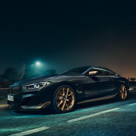 BMW8シリーズに大胆なブラック×ゴールドの限定モデル| BMW