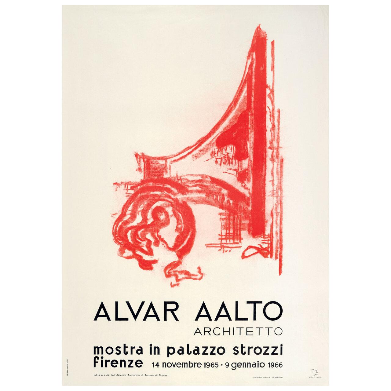 かつて開催された主要な建築展のポスターがオリジナルサイズで複製 Alvar Aalto Foundation