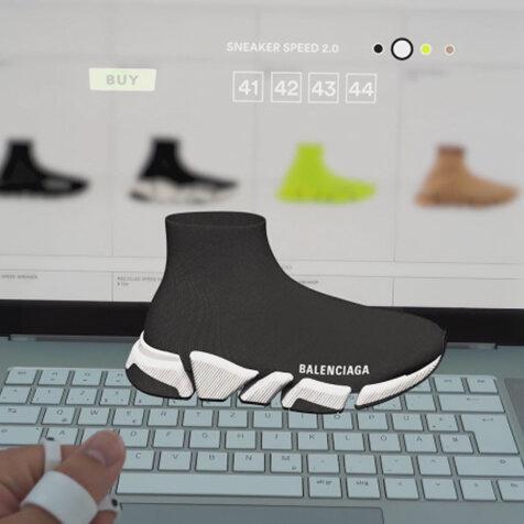 アイコニックなデザインを受け継いだバレンシアガの新作「SPEED2.0」|BALENCIAGA