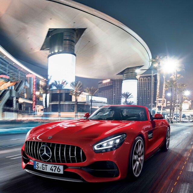 メルセデスAMG GT、エンジンをパワーアップするなど一部改良を実施|Mercedes AMG