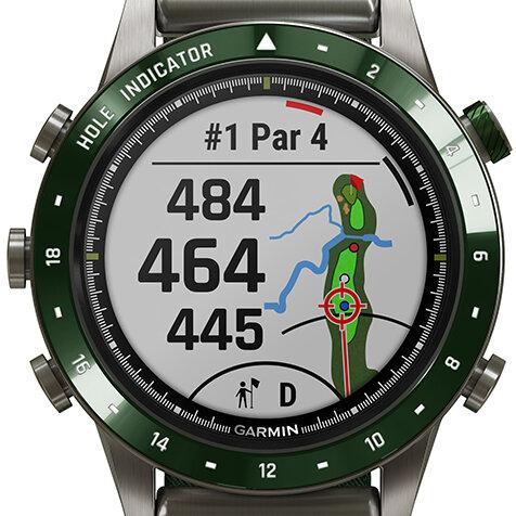 数量限定100セット! ゴルファーのための最高峰GPSプロウオッチ|Garmin