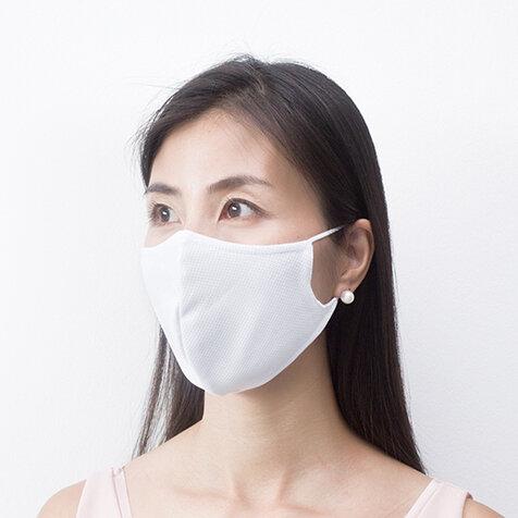 抗菌ナノコーティングの洗って使えるマスクに「2層式」が新登場|70億人のマスク