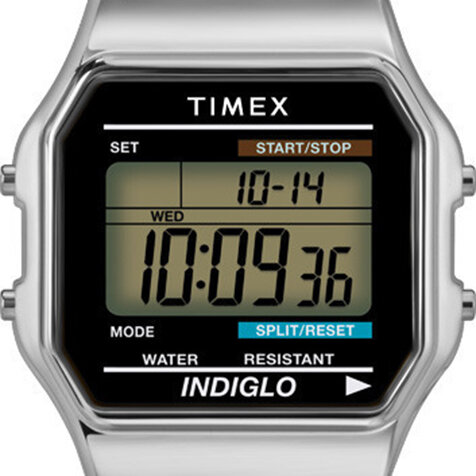 人気モデル「クラシック・デジタル」のシルバーカラーが再販開始|TIMEX