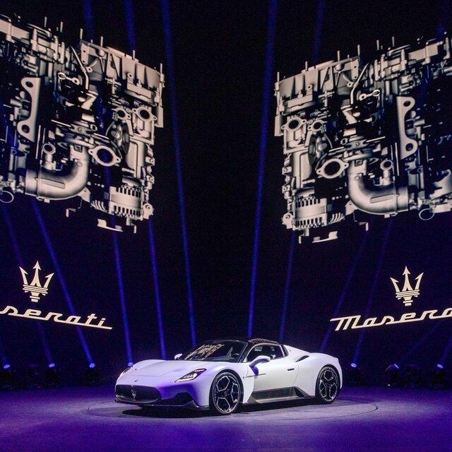 マセラティ、新型スーパースポーツカー「MC20」をワールドプレミア|Maserati