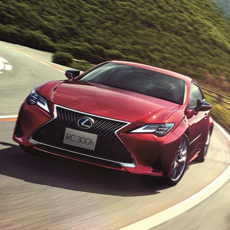 レクサス 、「RC」と「RC F」を一部改良 Lexus