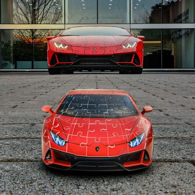 子どもから大人まで楽しめるウラカンEVOの立体パズル|Lamborghini