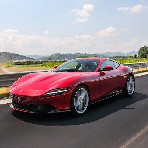 フェラーリの新型+2ミッド・フロントエンジンGT「ローマ」に試乗|Ferrari