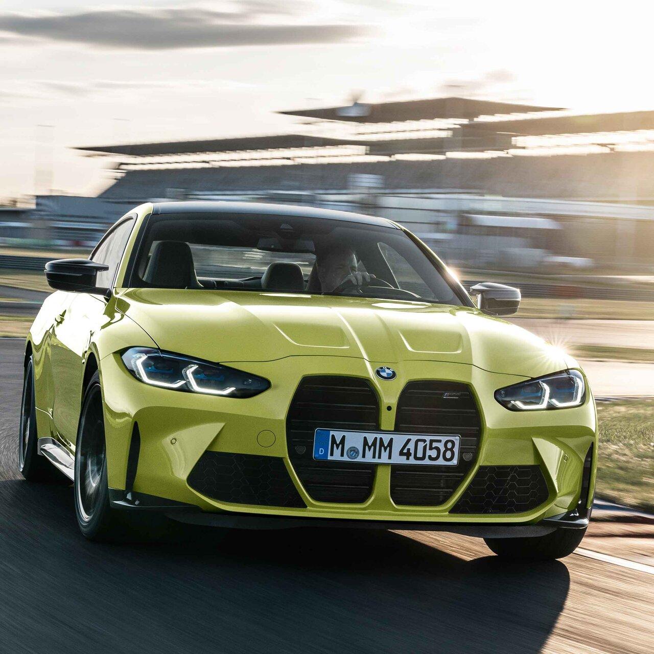 BMW、新型M3セダンとM4クーペを発表|BMW