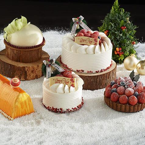 2020年のクリスマスは、シェフのアイディアが詰まった4種類のケーキが登場|Andaz Tokyo
