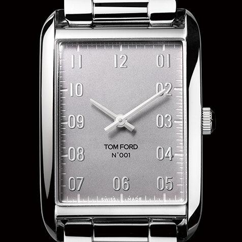 トム フォードタイムピース「N.001」「N.002」クロームダイアル|TOM FORD TIMEPIECES