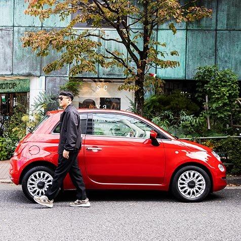 ムラカミカイエがフィアット 500と繰り広げる東京クルーズ|FIAT