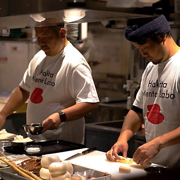 アジアを代表する人気シェフが九州の味を革新する|Hakata Mentai Labo