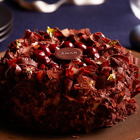 大人のためのクリスマスケーキで、シックなフェスティブシーズンを!|AMAN TOKYO