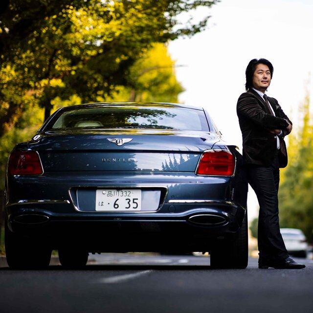 ライフアチーバーが語るベントレーの魅力──歯科医師 富田大介先生×ベントレー フライングスパー|Bentley