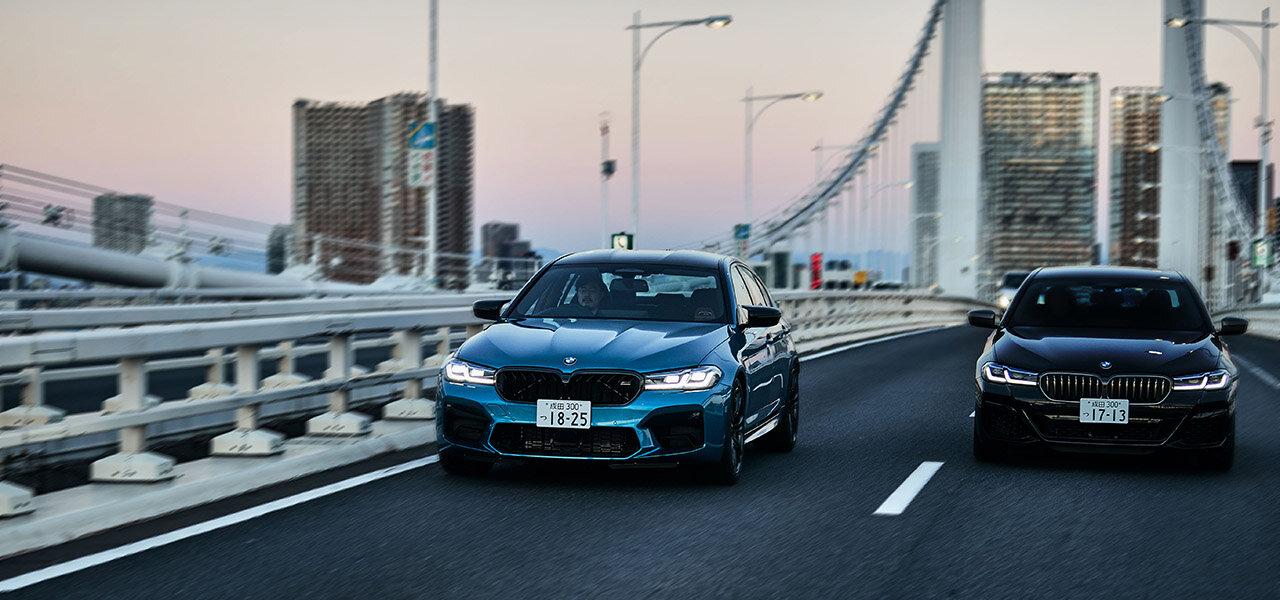 歌舞伎俳優 中村獅童×開化堂 八木隆裕が語る、BMW M5とM550i、似て非なる個性とパフォーマンス BMW