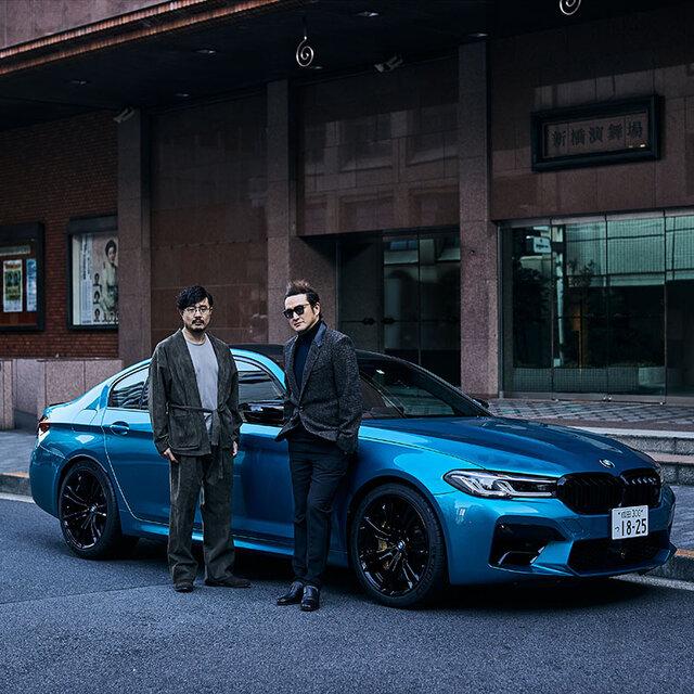 歌舞伎俳優 中村獅童×開化堂 八木隆裕が語る、BMW M5とM550i、似て非なる個性とパフォーマンス|BMW