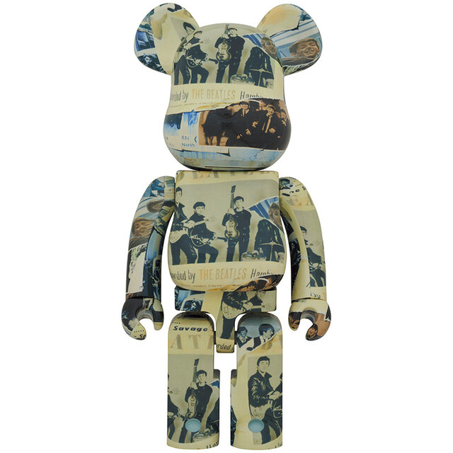 ザ・ビートルズ・アンソロジーのBE@RBRICKが登場。BE@RBRICK The Beatles'Anthology'100% & 400% / 1000%|MEDICOM TOY