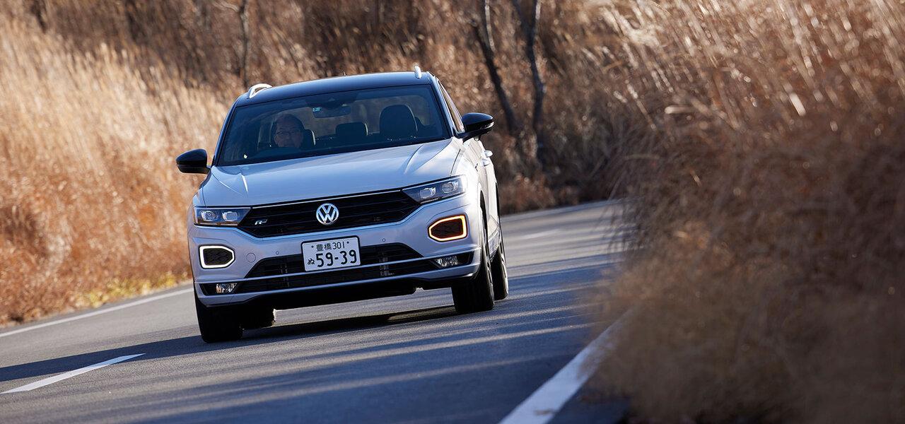 ゴルフのSUV版ともいうべきスタイルが魅力──フォルクスワーゲンT-Rocに試乗 Volkswagen