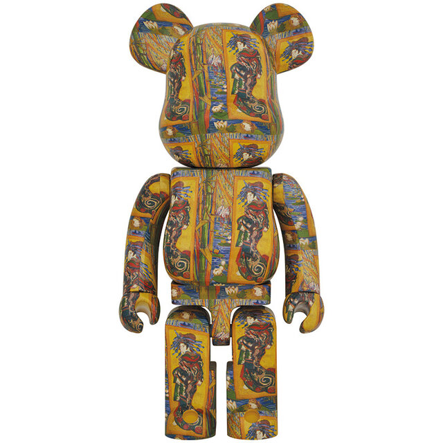 ゴッホと浮世絵の刺激的な邂逅 BE@RBRICK「Van Gogh Museum」Courtesan (after Eisen) 100% & 400% / 1000% |MEDICOM TOY