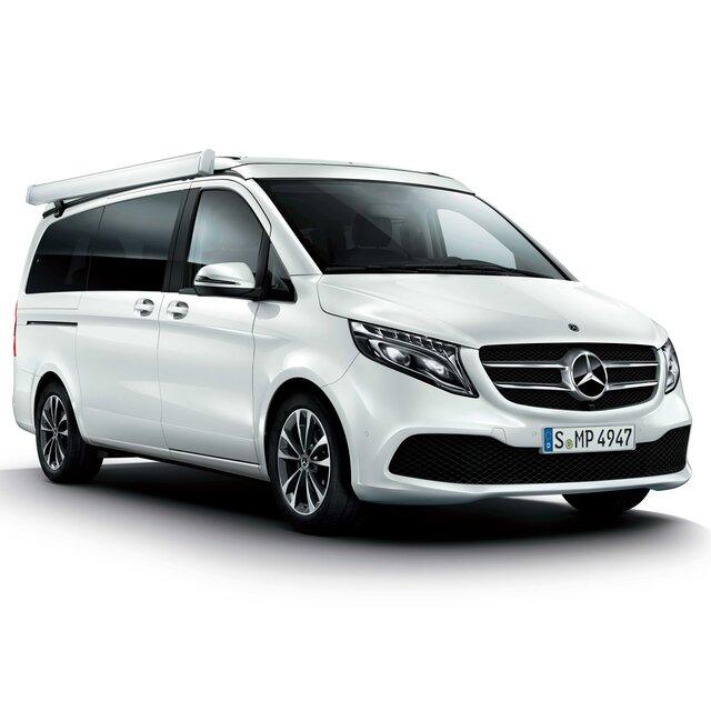 V220 dマルコポーロ ホライゾンにMUBXを追加し、キャンプをより快適に|Mercedes Benz
