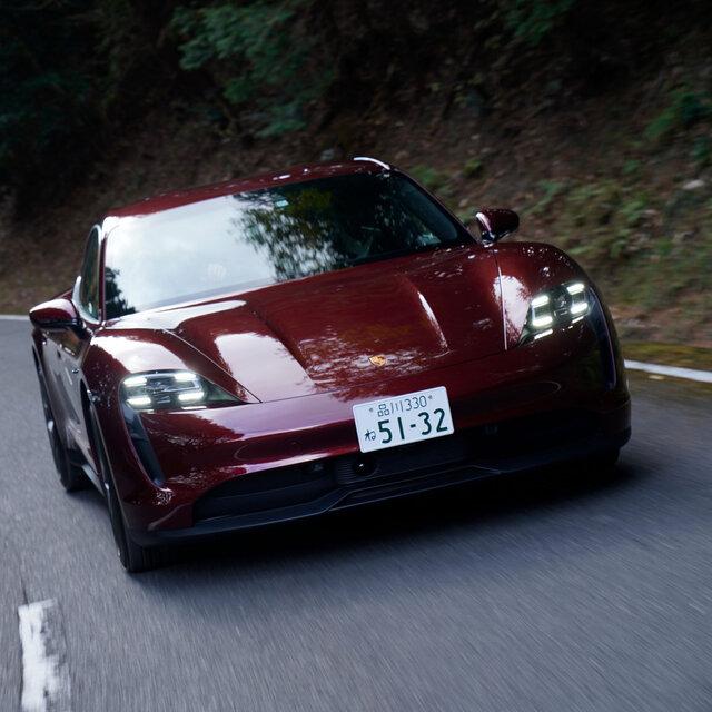 自動車好きが楽しめるBEV──ポルシェ タイカン4Sに試乗|Porsche