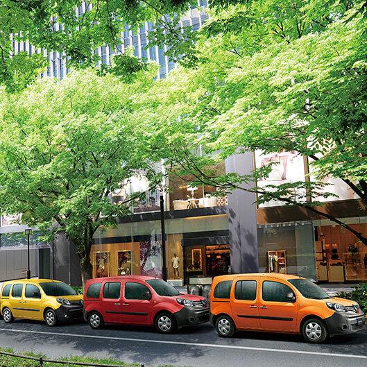 ルノーから色彩豊かなカングーの限定車が登場|Renault