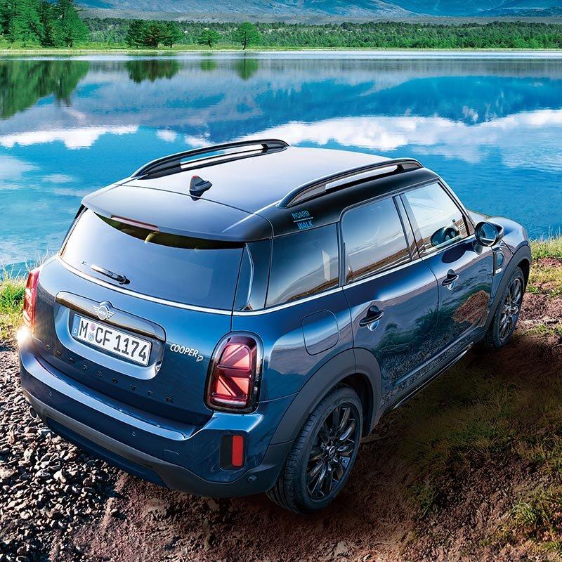 MINIクロスオーバーに初導入の特別なブルーを纏った限定モデルが登場 MINI