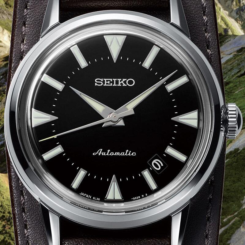 「<セイコー プロスペックス> 1959 アルピニスト 復刻デザイン」数量限定モデルと、現代デザインのレギュラーモデル3機種をリリース|SEIKO